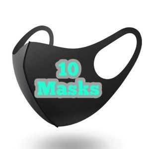 10 Reusable Washable Breathable Face Masks